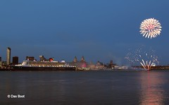 Queen Mary 2 Fireworks & Send Off (das boot 160) Tags: cruise sea port docks river boats boat dock ship ships maritime queenmary2 cunard mersey docking cruiseliner rivermersey merseyshipping liverpoolclt transatlantic175