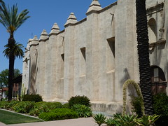 Los Angeles - San Gabriel Arcangel mission church_ (Kevin J. Norman) Tags: usa california spanishmission sandiego sangabrielarcángel