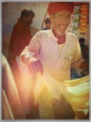 Incredible India series (Nick Kenrick..) Tags: india rajasthan pushkar hindu portrait