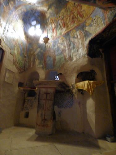Saint Neophytos Monastery - church sanctuary