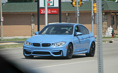 BMW M3 (F80) (SPV Automotive) Tags: bmw m3 f80 sedan exotic sports car blue