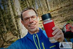 Kaffeetrinken in den  Hunsrückwäldern