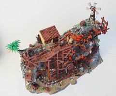 Forsaken Abyss Mine (W. Navarre) Tags: lego battle epic fight w navarre final round tt r6 cowboy knights mine abyss death duel eh