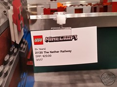 Toy Fair 2017 LEGO Minecraft 07 (IdleHandsBlog) Tags: minecraft toys videogames lego constructionsets toyfair2017