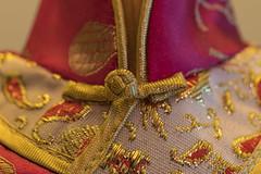 Macro Mondays - Cloth/Textile (03/27/2017) (Eric SF) Tags: macromondays clothtextile macro cloth textile winebottle