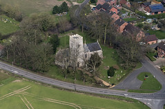 Wicklewood in Norfolk - St Andrew & All Saints Church aerial view (John D F) Tags: wicklewood church aerial norfolk village aerialphotography aerialview aerialimagesuk aerialphotograph aerialimage viewfromplane droneview britainfromabove britainfromtheair highdefinition hidef highresolution hirez hires