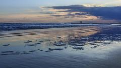 Two people (Stefano Montagner - The life around me) Tags: foam inverno jesolo landscape mare paesaggio sabbio sand schiuma sea sole stefanomontagner sun sunset thelifearoundme tramonto winter seascape