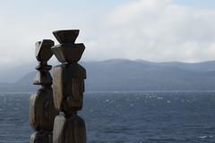 Esculturas en Bariloche (Ramiro Francisco Campello) Tags: escultura bariloche nahuel huapi lake landscape lago observar mountain montaña cerro
