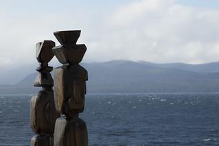 Esculturas en Bariloche