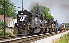 NS SD40 3171 (southernrailway7000) Tags: norfolksouthernrailroad nssd403171