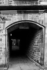 The Alley (Edward.Turner) Tags: edinburgh scotland city citybreak canon 50d sigma 1020 bw blackandwhite texture