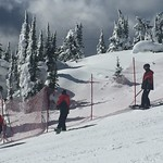 Teck U14 Provincials at Big White, Course set up Day 1 PHOTO CREDIT: John Legg