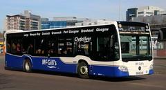 McGills Buses G3340 BV66GWC leaves Glasgow Buchanan for Largs. (Gobbiner) Tags: g3340 mcgills mercedesbenz bv66gwc citaro