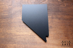 Chalkboards - Nevada (thea superstarr) Tags: nevada chalkboard 6by6arts lasercut laserengraved state madeinusa
