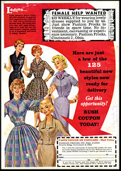 Fashion Frocks Inc. (Harald Haefker) Tags: fashion promotion vintage magazine ads print advertising pub publicidad reclame ad retro anuncio advertisement nostalgia advert 1960s werbung publicit magazin inc reklame 1961 affiche publicitario pubblicit frocks rclame pubblicizzazione
