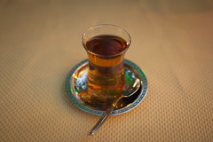 Tea for Two (Jussi V) Tags: travel food yellow turkey evening asia tea object trkiye beverage antalya alanya anatolia