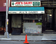 Joe's Dairy (Goggla) Tags: new york nyc shop cheese soho storefront joes dairy mozzarella nomore
