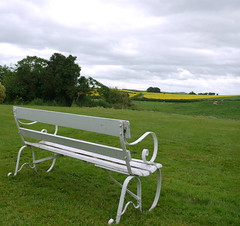 Happy Herefordshire bench Monday (blueachilles) Tags: bench hereford emptyseat hbm helliandrichswedding lydecourt