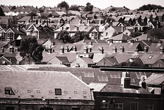 Cowes Roof Tops (Claire351) Tags: roof bw rooftops isleofwight cowes