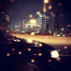 #shanghai #dream #rain #raining # (Skyreal) Tags: rain square dream squareformat freeway  raining iphone   2013 iphone5 iphoneography instagram instagramapp xproii