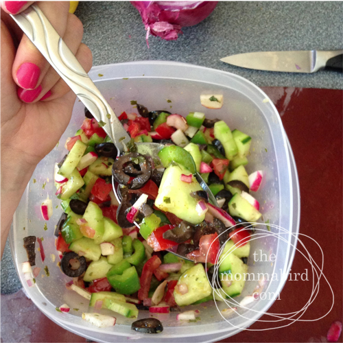 chopped turkish salad