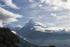 Machapuchhare (Me llamo Javierl) Tags: paisaje himalaya machapuchhare