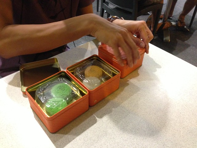 Singapore Moon cakes