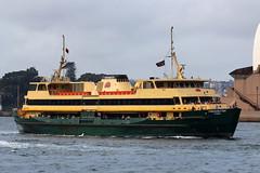 Sydney Ferry, Freshwater (Suburban_Jogger) Tags: circularquay freshwater sydneyferries freshwaterclass