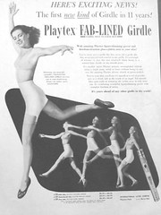 55 1951 (Undie-clared) Tags: girdle playtex fablined