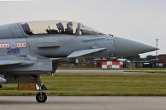 Eurofighter EF-2000 Typhoon RAF (Jarco Hage) Tags: uk fighter force aviation air jet royal eurofighter fighters typhoon raf mil waddington militair ef2000 egxw byjarcohage ukt13