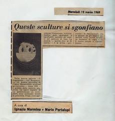 1969-QUESTE SCULTURE SI SGONFIANO