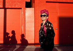 Pink-Haired Chick on Ocean Front Walk - Venice Beach, CA (ChrisGoldNY) Tags: california venice girls people usa sunglasses fashion america canon walking skulls losangeles cool punk shadows goth style socal albumcover venicebeach characters bookcover females southerncalifornia pinkhair bookcovers heartshaped albumcovers consumerist laist losangelescounty canid woemn thechallengefactory chrisgoldny chrisgoldberg chrisgold chrisgoldphoto chrisgoldphotos