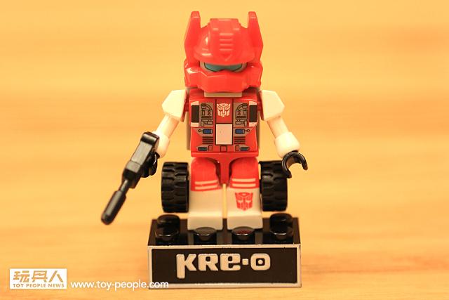 強力角色登場!「KRE-O 變形金剛迷你變形合體人物組」第二彈 開箱報告