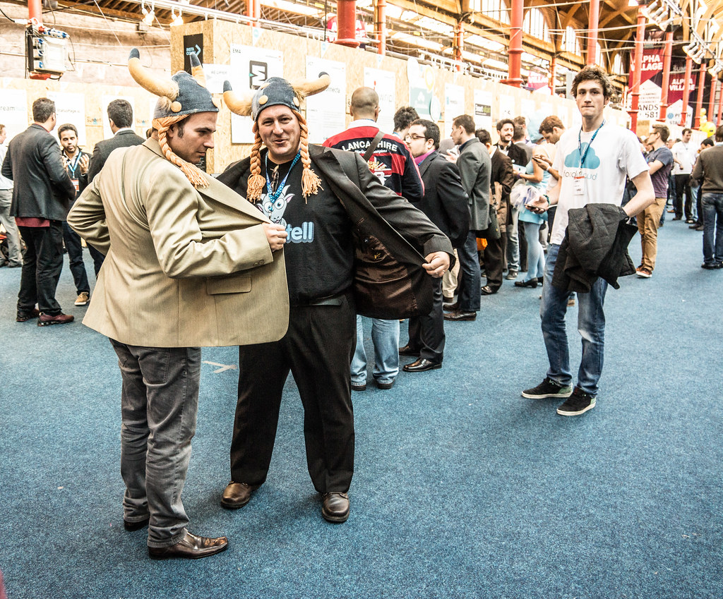 The Madmen From Goatell - Robert Zober And Friend Takes Over The Web Summit In Dublin
