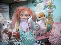 TGIF from Eternal and the Pink Palace.... (simplychictiques) Tags: studio fun toys blythe eternal kuma ebl redhairs liccabody mabbow whitepolkacustom ooakcustomizedblythedoll faceupbywhitepolka fruitpunchcustomwithalpacamohairrerootbyplaymodel fruitpunchooakcustomizedblythedoll