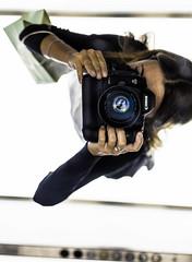 Over Mari (lothar1908) Tags: 50mm 5dmarkiii autoritratto bokeh borsa braccia canon dita esterno fingers girl hands italia italy mani mano mari milano pov puntodivista ragazza riflesso ritratto specchio camera fotocamera lights luci look mirror selfie