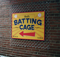 Full Color Sign on Metal Panel | Signarama Louisville Downtown, KY | Bud's Batting Cage