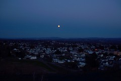 moonrise over Swoyersville (Hank Rogers) Tags: pictures city sunset sky moon skyline night rising lights town photo community photos dusk pennsylvania horizon picture astro full fullmoon pa moonrise astrophotography vista rise lunar astrophoto culm anthracite wyomingvalley culmbank swoyersville harrye