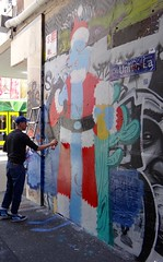 Street Art Melbourne (Christine Amherd) Tags: street city streetart art creativity cosmopolitan grafiti australia melbourne victoria spray vic australien ine weltstadt passionate mypassion grossstadt grafitikunst melbournesstreet melbournesstreetart seitenstrassenkunst christinescreativityphotography christinesphotography
