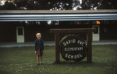 David Ave Elementary School, Pacific Grove, California, 1966 (Yvonne Thompson) Tags: california ca school architecture kids buildings campus education yvonne 1966 study 1960s kodachrome pacificgrove slides monterrey dadsslides montereybaycharterschool calvarychapelhighschool davidaveelementaryschool davidavenueelementaryschool
