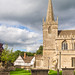 St. Cyriac's church at Lacock in Wiltshire