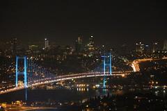 Çamlıca'dan Boğaziçi Köprüsü