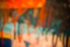 Trying to Read a Book (Thomas Hawk) Tags: sanfrancisco california usa museum painting unitedstates unitedstatesofamerica sfmoma soma robertrauschenberg rauschenberg sanfranciscomuseumofmodernart