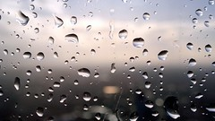 Raindrops (Abi Skipp) Tags: reflection window water rain drops