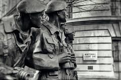 Comet Crew (ShrubMonkey (Julian Heritage)) Tags: bw london westminster statue court mono memorial tank place crew ww2 comet whitehall worldwar2 sw1 royaltankregiment rtr