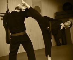High Kick (DuncanGunn) Tags: judo sports kew jujitsu action martialarts surrey dojo jiujitsu strikes throw holds busen jujutsu atemi