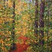 "Fall in NC - 24"" x 36"" - Oil - Sold"