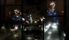 DSC_9311D80  Kitchen   2014 Paul Light (Paul Light) Tags: selfportrait kitchen nightwork nightinterior
