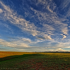 Western Tranquility Tastes Spring (Fort Photo) Tags: sky nature clouds skyscape landscape nikon wyoming plains grassland range cloudscape laramie wy 2014 nothdr menefee d700 michaelmenefee