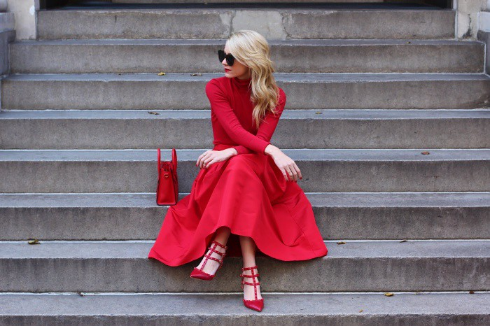 Red Shoe Outfits  Celebrities